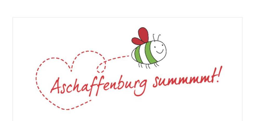 "Initiative ""Aschaffenburg summt"" (Logo)"